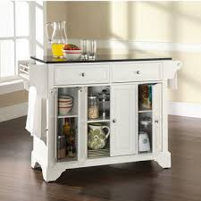 granite top kitchen island crosley furniture kitchen islands carts shop crosley islands