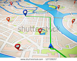 navigation map free gps navigation map 18999 stock photo avopix com