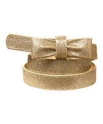 gold bow belt gymboree gold glitter bow belt zulily