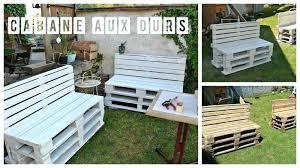 canapé de jardin en palette best schema salon de jardin en palette images amazing house best