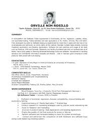 resume examples for information technology best solutions of software testing resume samples for layout bunch ideas of software testing resume samples with sample