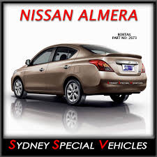 nissan almera rear bumper rear wing boot spoiler for nissan almera sedan