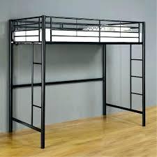 Black Bunk Bed With Desk Black Metal Loft Bed With Desk Coaster Furniture Size