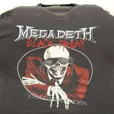 black friday t shirt ringsthingsstuff u0027s megadeth megadeth black friday concert tour