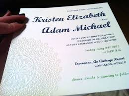 wedding invitations embossed embossed blue panel pocket real diy wedding invitation cards