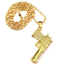 aliexpress buy nyuk mens 39 hip hop jewelry iced out nyuk new fashion american style gold silver pistol pendant