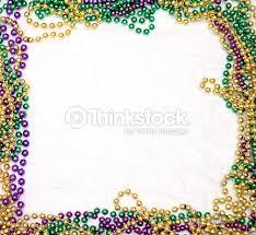 mardi gras picture frame mardi gras bead frame stock photo thinkstock