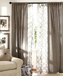 Brown Gingham Curtains Brown And White Curtains Teawing Co