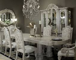 fancy silver dining room table 75 in modern dining table with