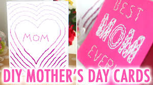 diy embroidered mother u0027s day cards hgtv handmade youtube