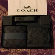men set 60 coach other coach 3 men s wallet gift set from