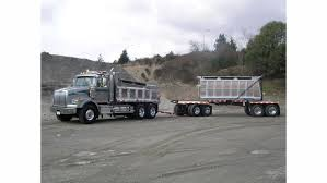 what to before a dump truck to tow equipment