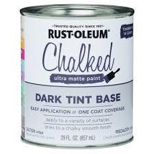 rustoleum chalked dark tint base