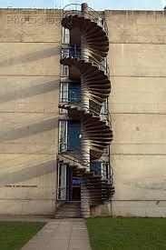 Outer Staircase Design A088 03256 Concrete Spiral Exterior Staircase Norwich
