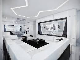 White Furniture In Living Room Interior Chic White Living Room Living Room Design With L Shape