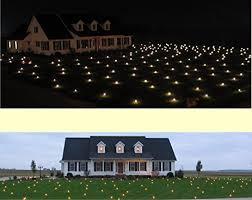 lawn lights illuminated outdoor decoration led