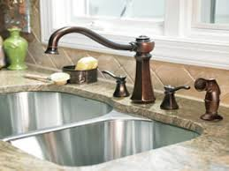 Faucets For Kitchen Sinks Rubbed Bronze Faucet Kitchen The Advantages Of Rubbed