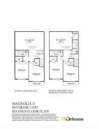 Belmonte Builders Floor Plans Magnolia Ii At Spring Oak Jporleans