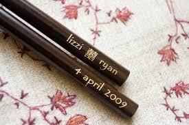 personalized chopsticks custom chopsticks for wedding receptions