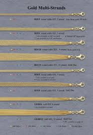gold multi chain bracelet images Gold necklaces bracelets italian jpg