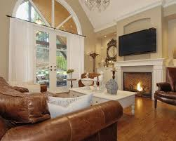 Brown Leather Furniture Houzz - Family room leather furniture