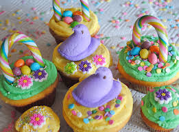 Easter Cupcake Icing Decorations by How To Make Easter Basket Cupcakes 5 Minutes For Mom