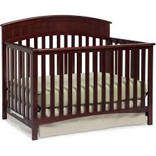 Convertible Crib Cherry Graco Charleston 4 In 1 Convertible Crib Cherry Walmart