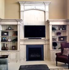 beautiful antique white built ins general finishes design center