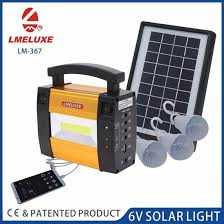 solar dc lighting system china dc solar charge for working emergency lighting systems china