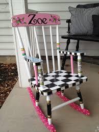 hand painted childrens rocking chairs design home u0026 interior design