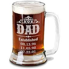 fathers day mug 16 oz gift for fathers day engraved glass