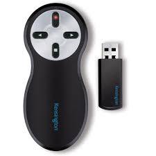 amazon com kensington wireless presenter with red laser pointer