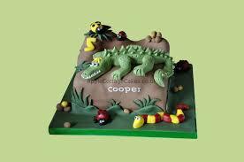 crocodile birthday cake apple cottage cakes