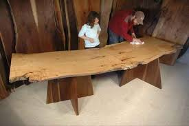 Custom Made Dining Room Furniture Custom Nakashima Style Furniture Dumond U0027s Custom Furniture
