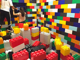adult legos giant lego blocks arcade games racing simulators photo booths