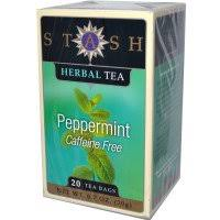 stash tea premium peppermint herbal tea caffeine free 20 tea