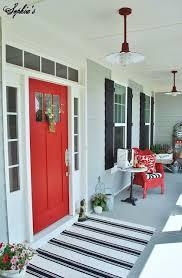 27 best front door paint color ideas farmhouse style red doors