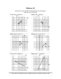 dilations worksheets free worksheets library download and print