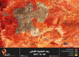 Syria Map Control by Syrian Army Tighten The Noose Around Isis In Central Syria Map
