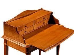 bureau en merisier secrétaire en merisier massif petit bureau classique meubles bois