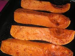 comment cuisiner une courge butternut courge butternut épicée rôtie au four chez bergeou