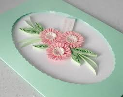 quilled 60th birthday card can be for any age folksy