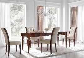 Fabric Chairs For Dining Room by Cream Leather Dining Room Chairs