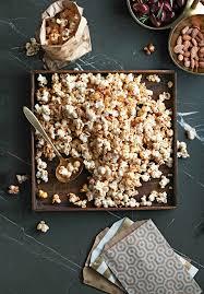 cuisine sucré salé popcorn sucré salé au paprika fumé châtelaine
