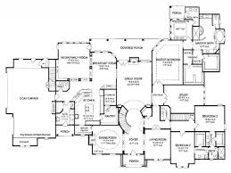 House Plans  Bedroom House Floor Plans  Story Single Story - 5 bedroom house floor plans