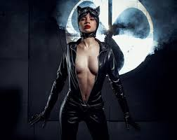 Latex Halloween Costumes Catwoman Costume Etsy