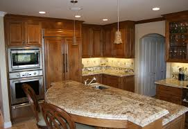 Recessed Kitchen Lighting Ideas Kitchen Splendid Brown Mahogany Kitchen Cabinets Designs Deluxe