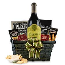 wine basket buy caymus cabernet gift basket online free shipping
