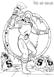 coloring download mr freeze coloring pages mr freeze coloring