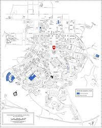 Map Of N Carolina University Of North Carolina At Chapel Hill Map Chapel Hill